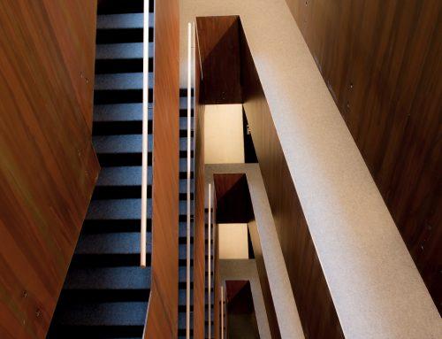 Treppengeländer Merkurhof
