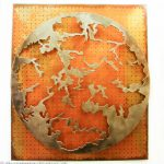 Weltenbilder I, Metallbildplastik, Patrick Thür