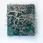 Der Himmel beginnt nicht erst nach dem Baum, Metallbildplastik, Patrick Thür