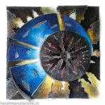 Genesis III, Metallbildplastik, Patrick Thür