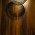 Zeitlichkeit - Ewigkeit, Metallplastik, Patrick Thür