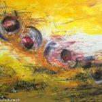 Chaos, Oelbild auf Leinwand, Christoph Thür
