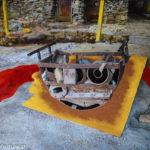 Jara- Mine in Bolivien, Oelbild auf Fotoleinwand , Christoph Thür