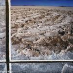 Scherben und getruebte Sicht -Salar Uyuni, Oelbild auf Fotoleinwand , Christoph Thür
