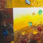 Sicht aufs Univerum, Oelbild auf Leinwand, Christoph Thür