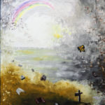 Tod des Bruders 1, Oelbild auf Leinwand, Christoph Thür
