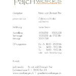 Einladung Patchworks Mount Parabol