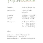 Patchworks Einladung Phantasmen