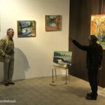 Francois Barro Vernissage Gastausstellung Farben & Klänge @ Thür Art Manufacture