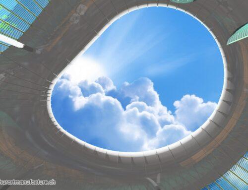 Wolkenpavillon Alterssiedlung Schönegg Brugg AG