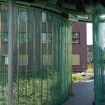 Wolkenpavillon Alterswohnsiedlung Schönegg Brugg AG, Rohre und Dach