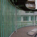 Wolkenpavillon Rohre und Dach, Alterswohnsiedlung Schönegg Brugg AG, Thür Art Manufacture