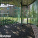 Wolkenpavillon Sitzbänke, Alterswohnsiedlung Schönegg Brugg AG, Thür Art Manufacture