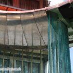 Wolkenpavillon Unterdach, Alterswohnsiedlung Schönegg Brugg AG, Thür Art Manufacture